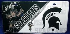 NCAA Michigan State Spartans License Plate new aluminum auto tag MadeUSA LP-5546