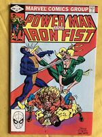 Power Man and Iron Fist (1972 Hero for Hire) #84 4th app Sabretooth VF Very Fine