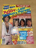 1978 December Andy Gibb Leif Will Parker Shaun Cassidy magazine Teen Super Stars