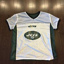 New York Jets NFL Flag Football  Reversible Jersey Adult Size M
