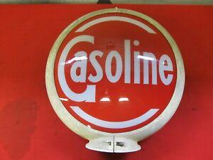 Vintage Gasoline Gas Pump Globe