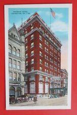 Phoenix Hotel Lexington KY Unposted Kropp Pre Linen Postcard
