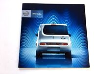 2012 Nissan Cube 30-page Original Sales Brochure Catalog