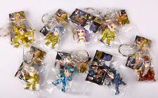 banpresto SAINT SEIYA keychain Gashapon Figure SD Q style gemini saga Set of 8
