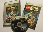 NTSC XBOX 360 LEGO GAME STAR WARS THE COMPLETE SAGA +BOX & INSTRUCTIONS COMPLETE