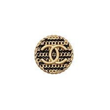 100% Authentic Chanel Button logo cc gold 💋💋💋 1 pieces