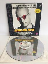 Natrual Born Killers | Laserdisc Limitierte Auflage | LD: Near Mint | Cover: EX