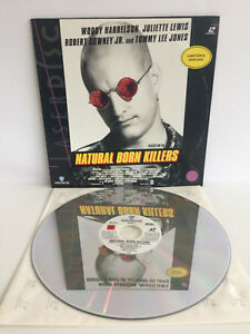 Natrual Born Killers   Laserdisc Limitierte Auflage   LD: Near Mint   Cover: EX