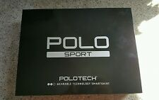 POLO SPORT POLOTECH WEARABLE TECHNOLOGY SMARTSHIRT SHIRT WORKOUT X-LARGE $295