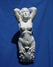 NAUTICAL LARGE MERMAID FIGUREHEAD  U-PAINT CRAFTS! HOME DECOR