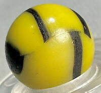 "Peltier NLR Aventurine Bumblebee Vintage Marble 5/8"" National Line Rainbo w/ AV"