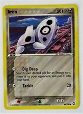 USED Rare ARON Pokemon Card 50HP Collectable Basic Card Trading Game 42/108 2007