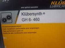KLUBER, klubersynth GH6-460 OLIO SINTETICO GEAR, 20 L.