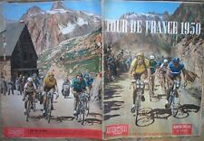 FAUSTO COPPI TOUR DE FRANCE 1949 DOPPIA COPERTINA COLORE SPECIALE MIROIR SPRINT