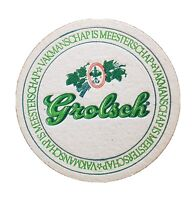 Lot Of 35 Vintage Grolsch Beer Coasters Mats Breweriana Man Cave Great Gift!