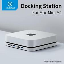 USB-C Hub For Mac Mini M1 2021 with SATA Hard Drive Enclosure Type-C SSD Case