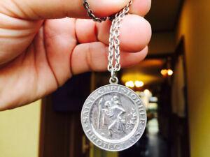 Toys Mccoy Steve Mcqueen Saint Christopher Pendant Silver Color The Great Escape