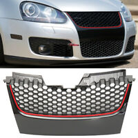 FRONT BUMPER HONEYCOMB MESH CENTER GRILLE GRILL FOR VW GOLF JETTA MK5 GTI SPORT