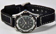 Regent montre bracelet pour enfants 10 ATM NOIR AVEC EN TISSU à 6800.79.16
