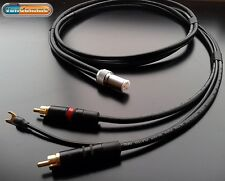 Van Damme Tonearm cable - Twisted pair - Ultra Pure Silver plated OFC copper