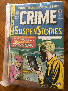 EC CRIME SUSPENSE STORIES #1-#13 1992-1995 Collection Brand New in Sealed Bag