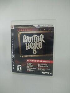 Guitar Hero 5 - PlayStation 3 (PS3)