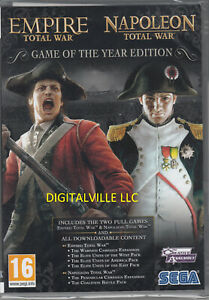 Empire Napoleon Total War Game of the Year PC Brand New Factory Sealed GOTY