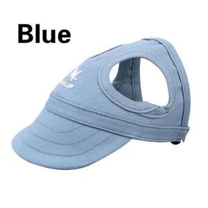 New 1PC Dog Hat Summer Baseball Dog Sun Hat Cap With Ear Holes Cute Gift