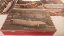 ancien jeu de cubes voitures années 60 : DS, 404, Dauphine, Floride, 3cv, etc