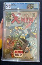 X-Men #36 (Sept 1967) Graded 5.5 by CGC   - 1st app Mekano Marvel Comic Book