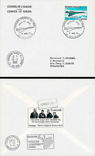 "FE18b FDC Council of Europe ""First Flight CONCORDE 001 / TURCAT & RETIF"" 1969"