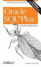 Oracle SQLPlus Pocket Reference: A Guide to SQLPlus Syntax (Pocket Reference (O'