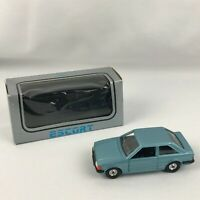 Corgi Ford Escort Metallic Blue w Original Box Great Britain Rare Fast Shipping