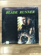 Blade Runner Laserdisc [Criterion Collection 1987 - CC1209L] FREE SHIPPING