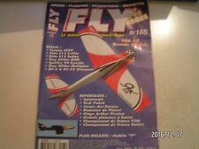 ** Revue Fly International n°165 Plan encarté Stabilo P / Yak 55