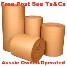 600mm x 83m Single Face Corrugated Cardboard Roll