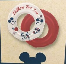 Junk Food Mickey Mouse Follow the Sun Inflatable Ring