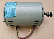 GEC Machines AC Motor BC-1511-B 110/120V 2.5A/2.2A 1425/1725RPM 1/10HP 75W