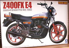 Kawasaki z 400 FX e4 Limited grand prix version Kit de AOSHIMA 1:12