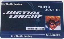 WFID-010 STARGIRL World's Finest DC HeroClix ID CARD
