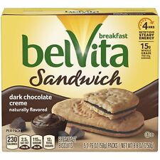 Dark Chocolate Breakfast Biscuits, 5 Packs, 8.8 Oz.