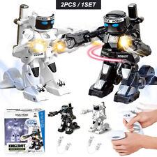 Intelligent 2.4G high quality  mini rc battle fighting robot,2PCS / 1SET