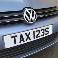 TAXI CAR REG NUMBER PLATE TAX123S - HACKNEY CAB CABBIE - TAX DISCS - VELOLOGY