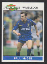 Panini - Football 92 - # 263 Paul McGee - Wimbledon