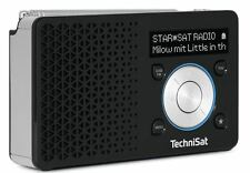 TechniSat DIGITRADIO 1 DAB+ Radio 0000/4997, schwarz/silber, neu OVP