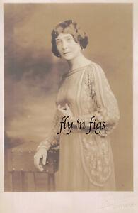 AFRICAN AMERICAN WOMAN RISQUE SEE-THROUGH DRESS original antique photo 1920s