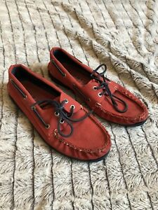 men's Sperry topsider Size 10.5 red canvas