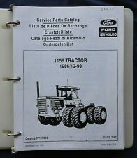 1986 1994 Original New Holland Ford 1156 Tractor Parts Catalog Manual Nice Shape