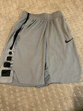 Nike Boys Dri-Fit Elite Stripe Basketball Shorts Size Large