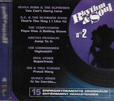 CD album: Compilation: Rhythm & Soul N° 2 . Poligram. P